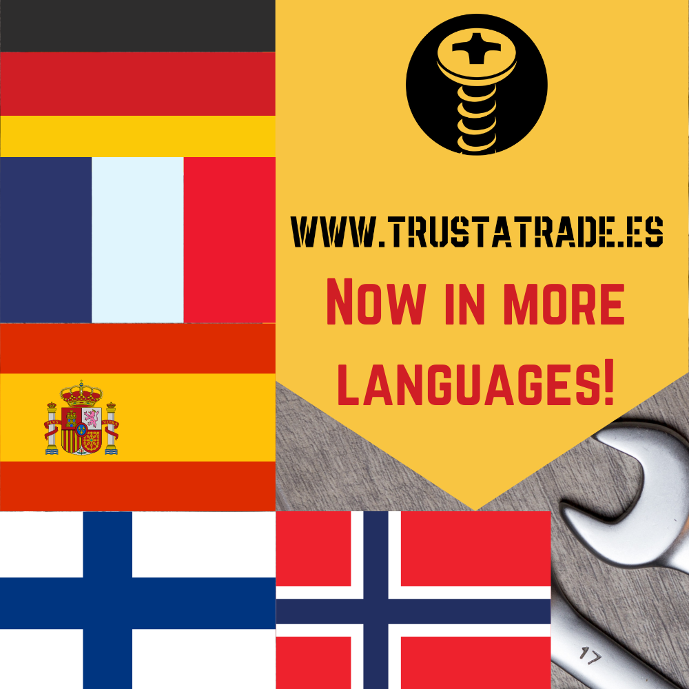 Trustatrade website in languages